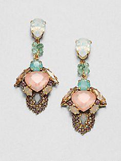 Erickson Beamon - Modern Moghul Drop Earrings