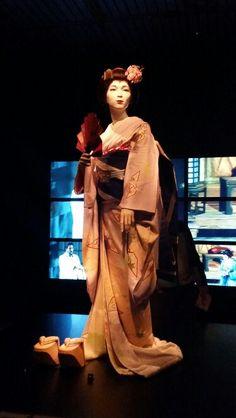Geisha exposition - rijksmuseum volkenkunde Leiden