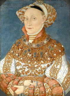"""KURFÜRSTIN JADIWA JAGIELLO  DAUGHTER OF SIGISMUND I THE OLD OF POLAND """" ZYGMUNT SRÁRY"""" JAGIELLO AND BARBARA ZAPÓLYA, HEDWIG MARRIED THE PRINCE ELECTOR OF THE MARGRAVIATE OF BRANDENBURG JOACHIM II HECTOR HOHENZOLLERN AFTER THE DEATH OF HER FIRST WIFE MAGDALENA OF SAXONY"""