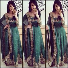 This wedding was sooo fun! I loved my outfit thank you so much for making it for… Pakistani Couture, Pakistani Outfits, Indian Outfits, India Fashion, Ethnic Fashion, Asian Fashion, Women's Fashion, Pretty Dresses, Beautiful Dresses