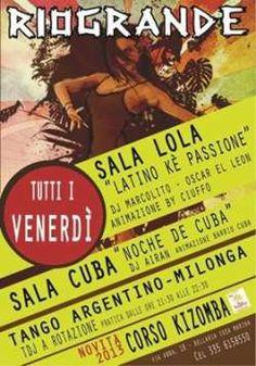 Questa sera torna l'appuntamento del Rio Grande #Rimini con la festa #Latino ke passione!!