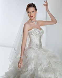 Demetrios 2862: buy this dress for a fraction of the salon price on PreOwnedWeddingDresses.com