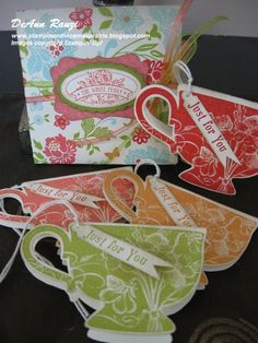 Tea Shoppe Note card Set DeAnn Rauzi