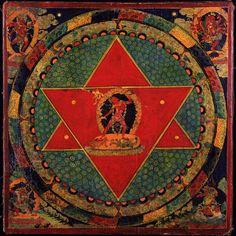 Vajrayogini Mandala, Tibet; 18th century, Courtesy Rubin Museum of Art