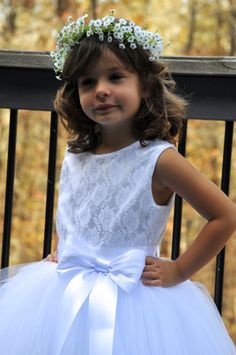 Hey, I found this really awesome Etsy listing at https://www.etsy.com/listing/256202472/sewn-tulle-dress-white-flower-girl