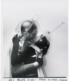 Weegee - Boy Meets Girl - From Outer Space, c. 1960