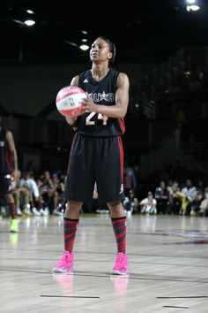 2f254ba4395a Tamika Catchings Photos - WNBA Player Tamika Catchings plays during the  2013 NBA All-Star Celebrity Game at George R.
