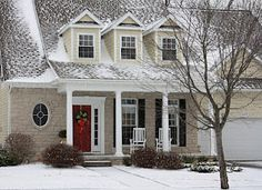The Yellow Cape Cod: 31 Days of Character Building: Christmas Decor With Character