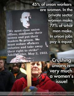 When everyone is shouting about Nazis, Jews, and guns, they forget that one of the greatest tools of fascism is the destruction of unions and education. Some people believe thats the path America should be on. Who are the fascists in America?