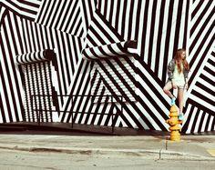 rayures -mur- http://luckymag.tumblr.com/post/27141590803/april22