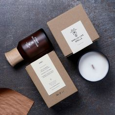Designers: Edvardas Kavarskas & Gintarė Ribikauskaitė Project Type: Produced, Commercial Work Client: Smells Like Spells Location: Vil. Essential oil inspiration for Karen Gilbert Candle Branding, Candle Packaging, Candle Labels, Soap Packaging, Skincare Packaging, Cosmetic Packaging, Medical Packaging, Kraft Packaging, Packaging Design Box