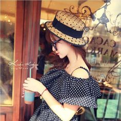 >> Click to Buy << 2017new summer 100% good quality Flat Sun Hat Women's bow Straw Hats For Women Beach hat chapeau femme boater Gift free shipping #Affiliate
