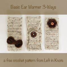 Basic Ear Warmer 3-Ways — Left in Knots