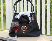 TeamJennz Wine and Beverage Carrier Purse