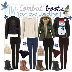 How To Wear: Combat Boots (For Cold Weather) ...