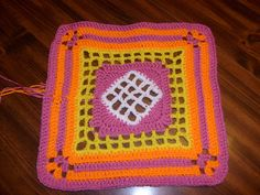 Ravelry: Project Gallery for Windowpane Square pattern by Chris Simon