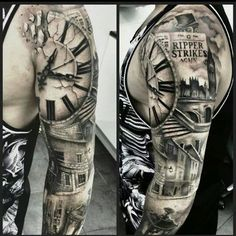 Jack the Ripper tattoo / tattoo ideas / tattoo sleeve designs