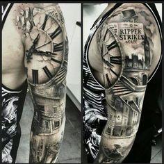 Jack the Ripper tattoo / tattoo ideas / tattoo sleeve designs