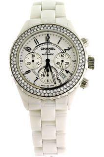 Chanel J12 Automatic Ceramic Diamonds
