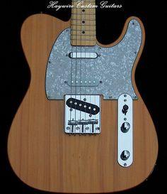 Haywire Custom Guitars-MahoganyNaturalNashvilleTele1+txt | Flickr Guitar Neck, Guitar Body, Telecaster Guitar, Fender Guitars, Guitar Tips, Guitar Building, Custom Guitars, Bass, Instruments