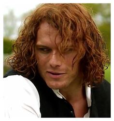 Just one of the many faces of James Alexander Malcolm MacKenzie Fraser. *Sigh*