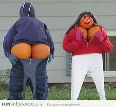 pumpkin butts cards | Love Big Butts/Boobs and I cannot lie
