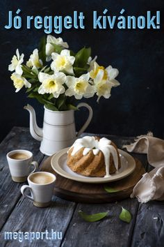 Share Pictures, Animated Gifs, Reggio, Coffee Time, Good Morning, Tea Pots, Mexican, Table Decorations, Tableware