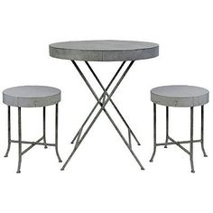 Patio dining sets air pollution and patio dining on pinterest - Bistro sets for small spaces collection ...