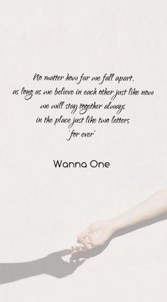 Trendy Quotes Lyrics Kpop Wanna One Ideas New Quotes, Lyric Quotes, Happy Quotes, Qoutes, Korean Quotes, Song Lyrics Wallpaper, New Memes, Funny Memes, Adventure Quotes