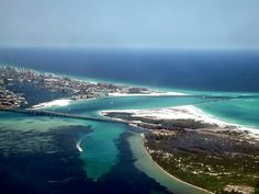 destin florida arial view | ... >> Scenes, things, and other Misccellaney > Destin Fl Beach Aerial