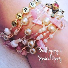 LuckyRapsTM Bee Happy ii Summer Edition triple by SpaceHippyStuff