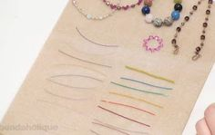 Worth Reading - Cords, Wires & Threads for Jewelry Making