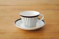 グスタフスベリ/スティグ・リンドベリ/SPISA RIBB/コーヒーカップ&ソーサー - 北欧、暮らしの道具店