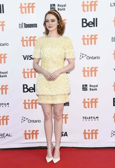 Emma Stone At 'la La Land' Premiere At Toronto International Film Festival - September 12, 2016
