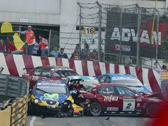 accidente circuito WTCC Seat