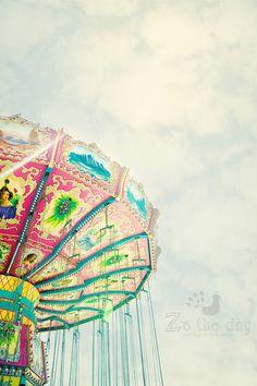 carnival  rides #carnival #vintage #rides #fair