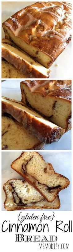 Easy and quick gluten free cinnamon roll bread with no yeast required! If you're gluten free, you no longer need to miss out on flavor with this recipe!