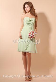Sweetheart Flower #Bridesmaid #Dress