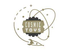 Cosmic Toys - logo - Jim Leszczynski
