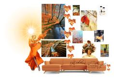 """Autumn"" by gonulk ❤ liked on Polyvore featuring Fountain, Joybird Furniture and Lumière"
