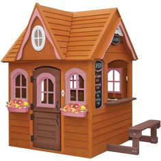 Cedar Summit Maradale Playhouse - Walmart.com