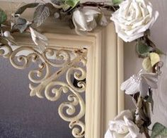 brackets in doorways to frame the space with a rustic feminine touch