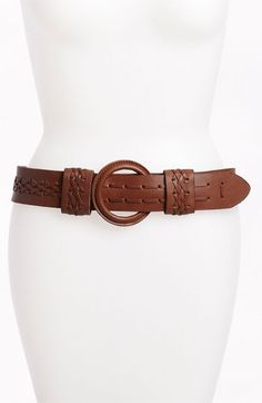 Another Line Leather Belt | Nordstrom