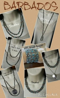 Many ways to wear the fantastic Barbados necklace! See more at marciaward.mypremierdesigns.com