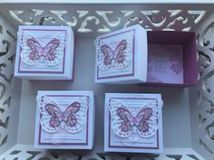 Willkommen auf meinem Blog!  Schön dass ihr hier vorbei schaut!   Endlich wieder ein Projekt mit den wunderschönen Schmetterlingen von SU! S...