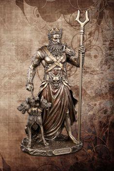 Underworld Greek Mythology, Hades Greek Mythology, Greek Mythology Tattoos, Hades Tattoo, Medusa Tattoo, Greek Goddess Art, Greek Gods, Tattoo Design Drawings, Tattoo Designs Men