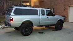 I am getting roof racks, and putting a light inside. Ranger 4x4, Ford Ranger, Camper Shells, Australian Models, Roof Rack, Cool Trucks, Pickup Trucks, Mazda, Wheels