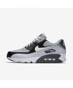 detailed look f0293 17859 Nike Air Max 90 Essential Wolf Grey Pure Platinum Black White 537384-083 Air  Max