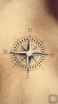 Compass // 3D Artwork // Tattoo Idea // CloseUp // Ipad Pro // DigitalArt // 3D & 2D
