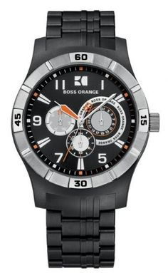 Buying The Right Type Of Mens Watches - Best Fashion Tips Hugo Boss Watches, Big Watches, Sport Watches, Cool Watches, Watches For Men, Wrist Watches, Hublot Watches, Hugo Boss Orange, Watch Sale